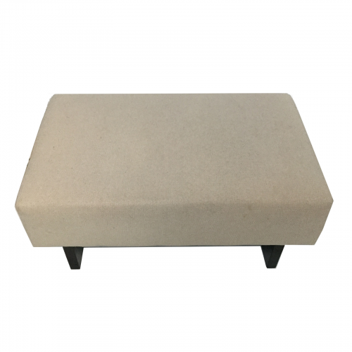 Two Design Lovers cream ottoman top