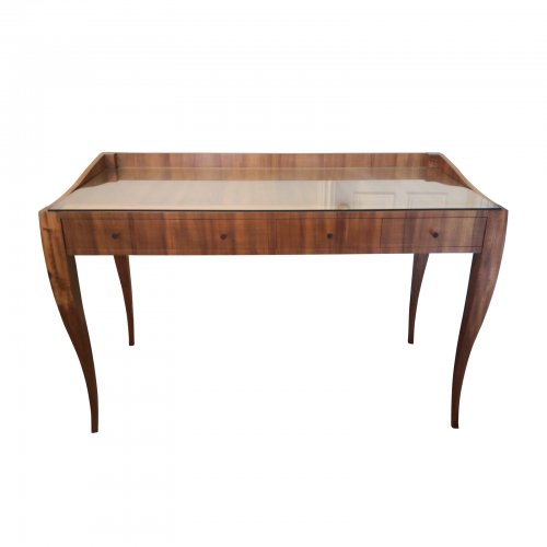Two Design Lovers Tasmanian silky oak dressing table