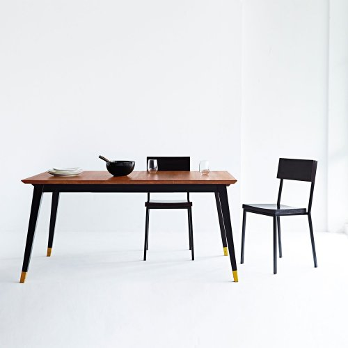 Two Design Lovers Reddie furniture vinny dining table with chairs