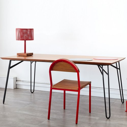 Two Design Lovers Reddie furniture willy dining table with chair