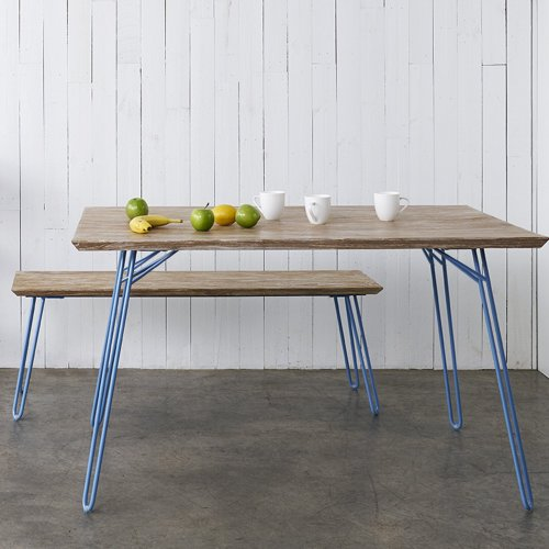 Two Design Lovers Reddie furniture willy dining table with bench