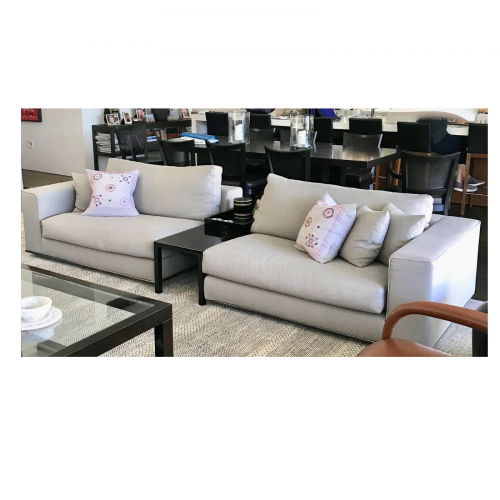Two Design Lovers Minotti Sofa set front