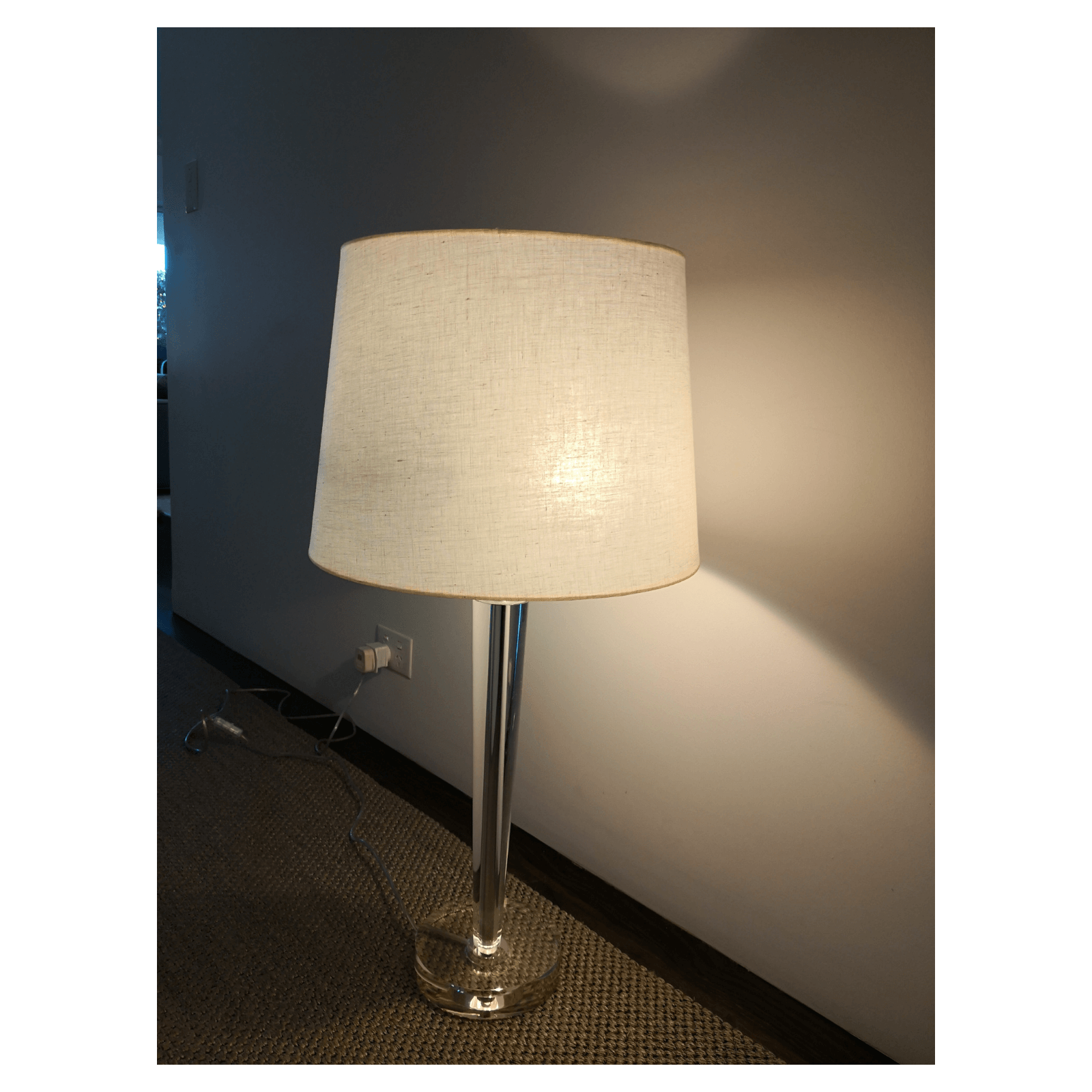 Perspex Table Lamp 2 Available