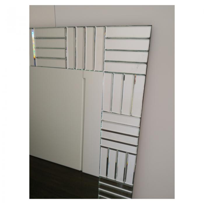 Two Design Lovers bevelled edge designer mirror detail right