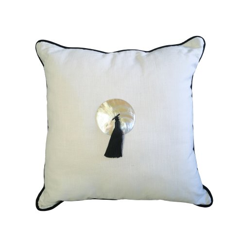 Two Design Lovers Bandhini Designs cushion tassel