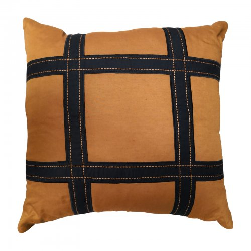 Two Design Lovers Bandhini Designs cushion Hermes style