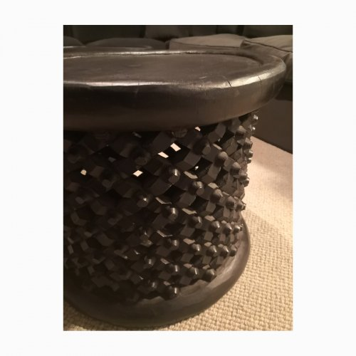 Two Design Lovers Bamileke table 54cm side