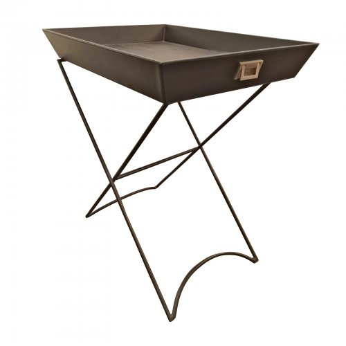 Two Design Lovers leather tray table