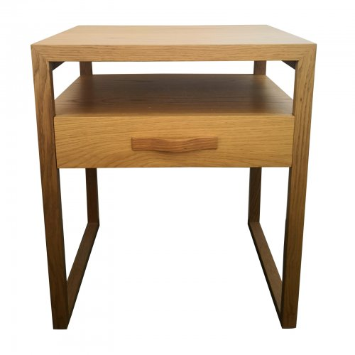 Two Design Lovers Pierre and Charlotte bedside table