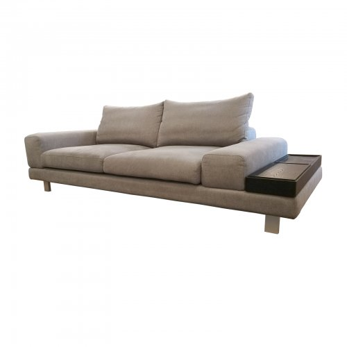 Two Design Lover King Living sofa angle