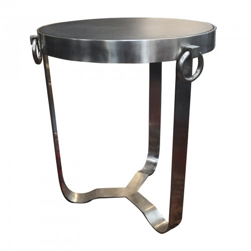 two design lovers round side table