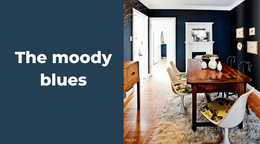 Two design Lovers Blog 15 Moody Blue Interiors
