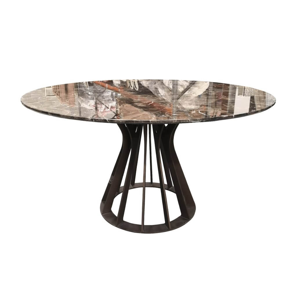 two design lovers marble dining table side