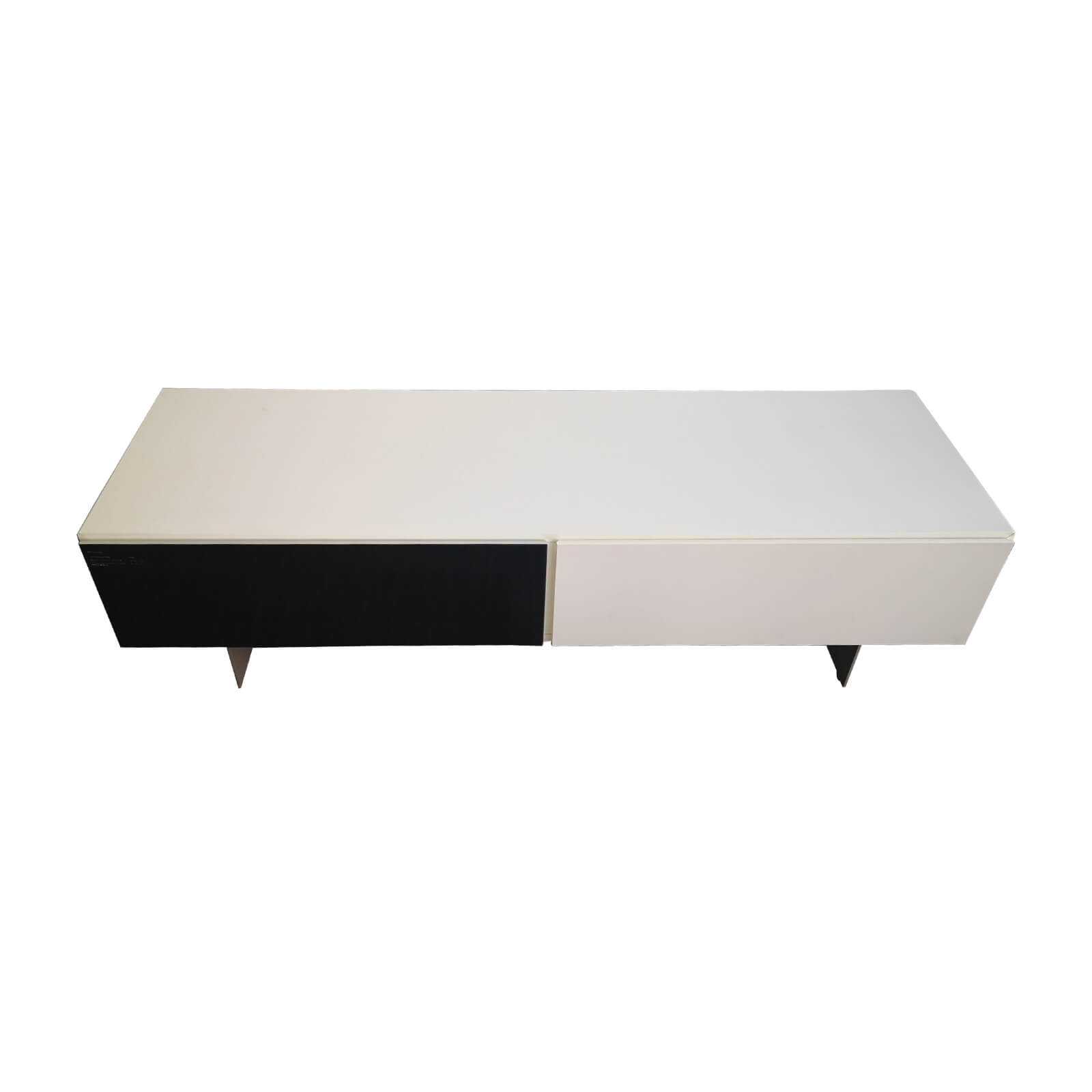 Two Design Lovers Bo Concept Lugano low cabinet with glass door