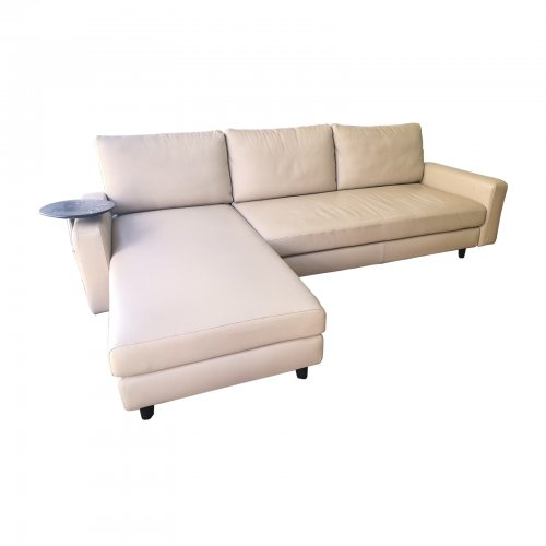 Two Design Lovers King Living Sofa cream leather