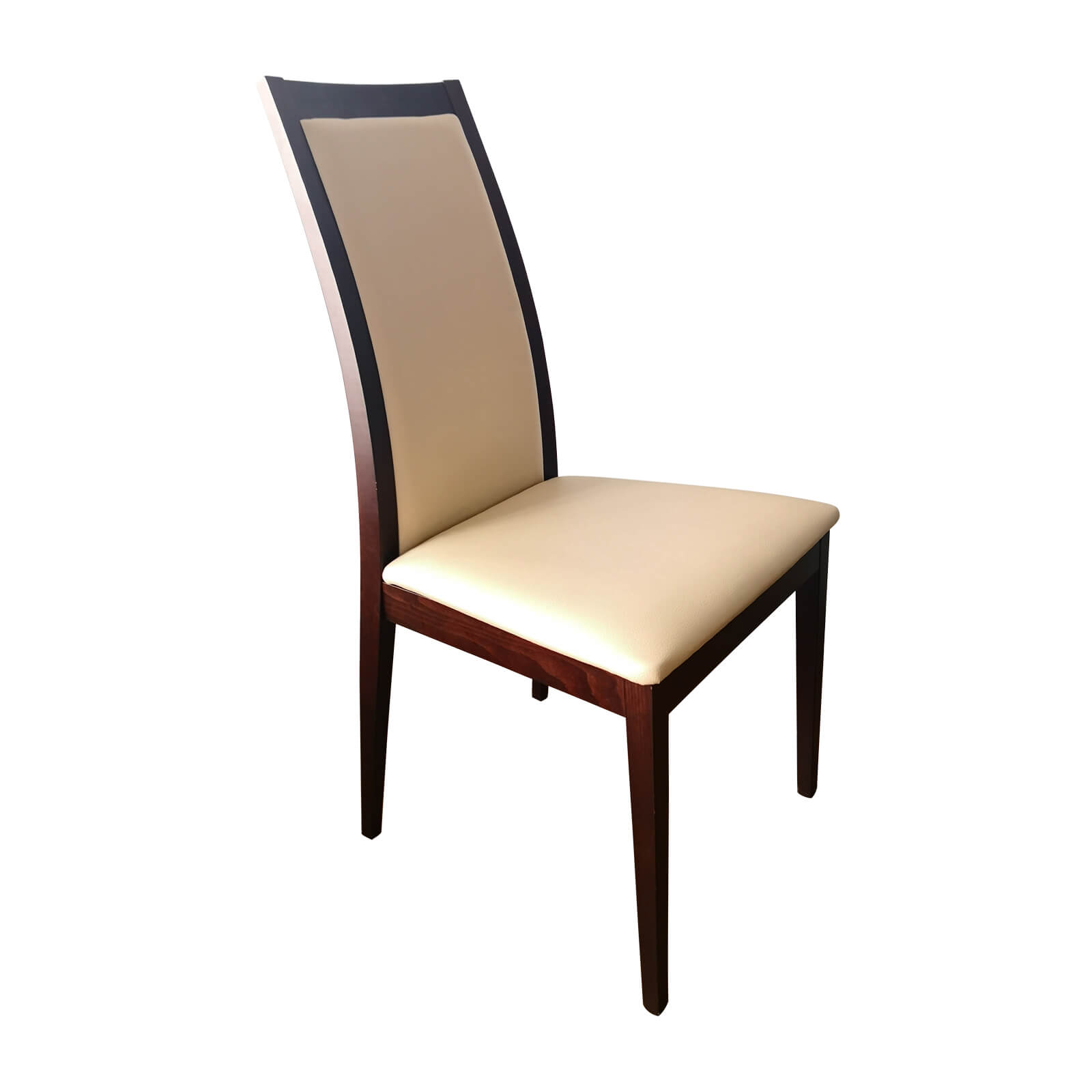 Two Design Lovers Italian 5 piece dining set leather chair