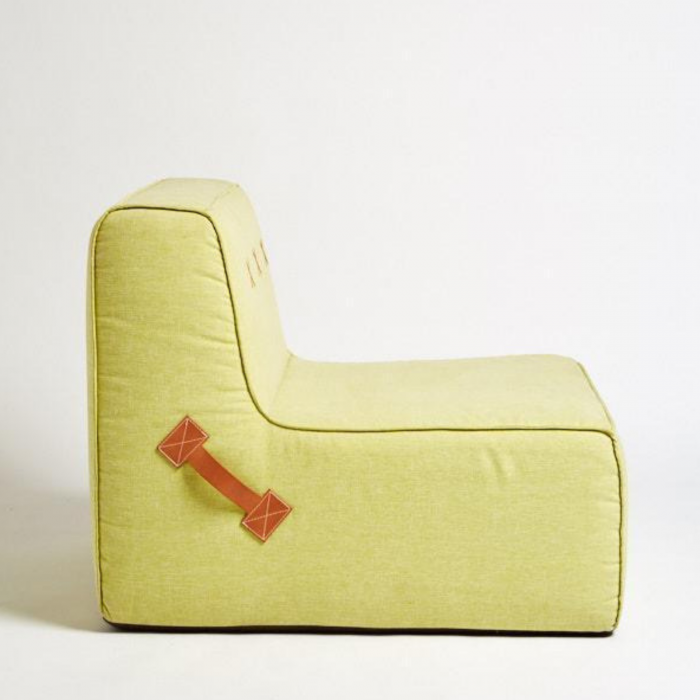 Two Design Lovers Koskela Quadrant Soft Sofa Pear Green side