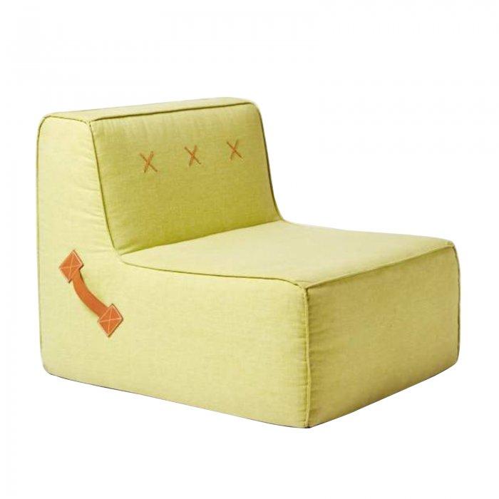 Two Design Lovers Koskela Quadrant Soft Sofa Pear Green