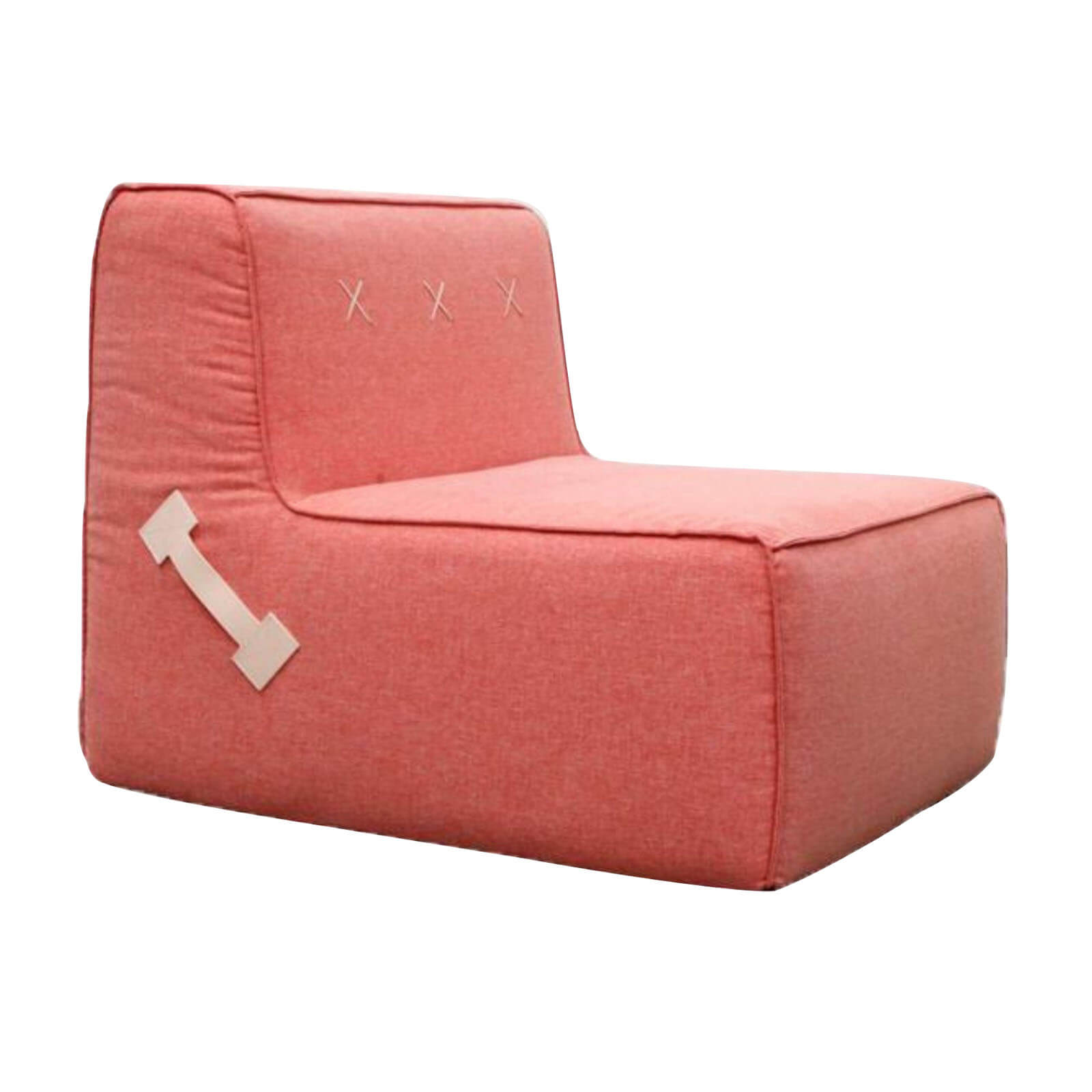Two Design Lovers Koskela Quadrant Soft Sofa pink