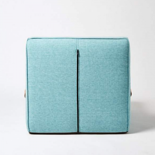 Two Design Lovers Koskela Quadrant Soft Sofa Blue back