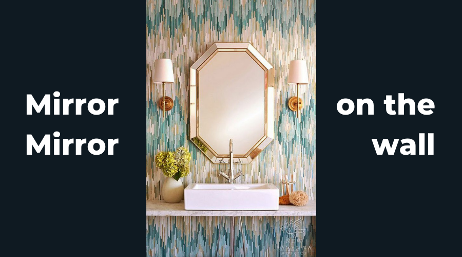 Two Design Lovers Blog post mirrors cover