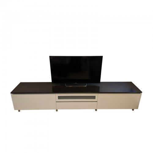 Two Design Lovers custom media cabinet