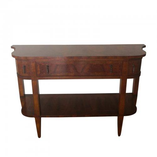 Marquetry walnut sideboard