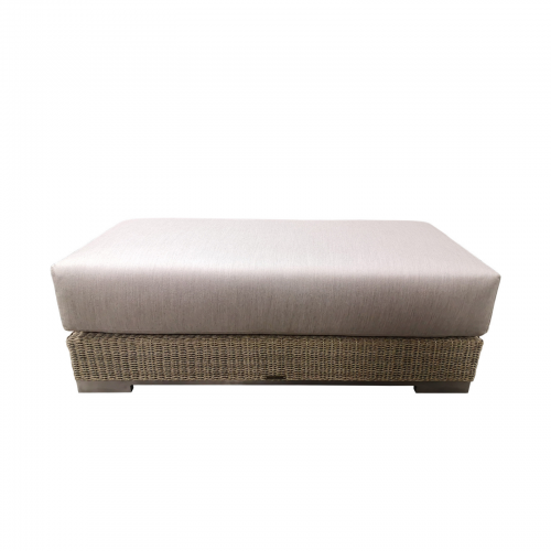 Two Design Lovers outdoor furniture Osier Belle Frappant ottoman