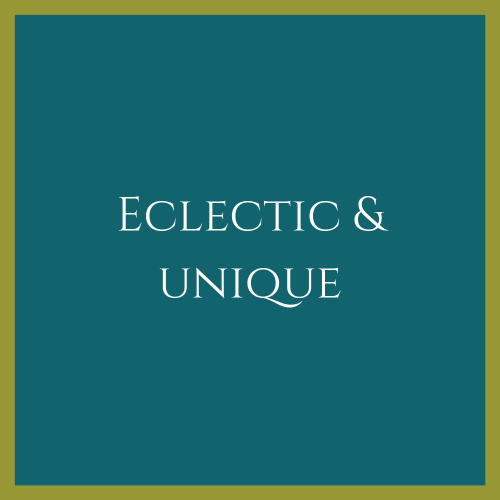 Eclectic Furniture & Objects
