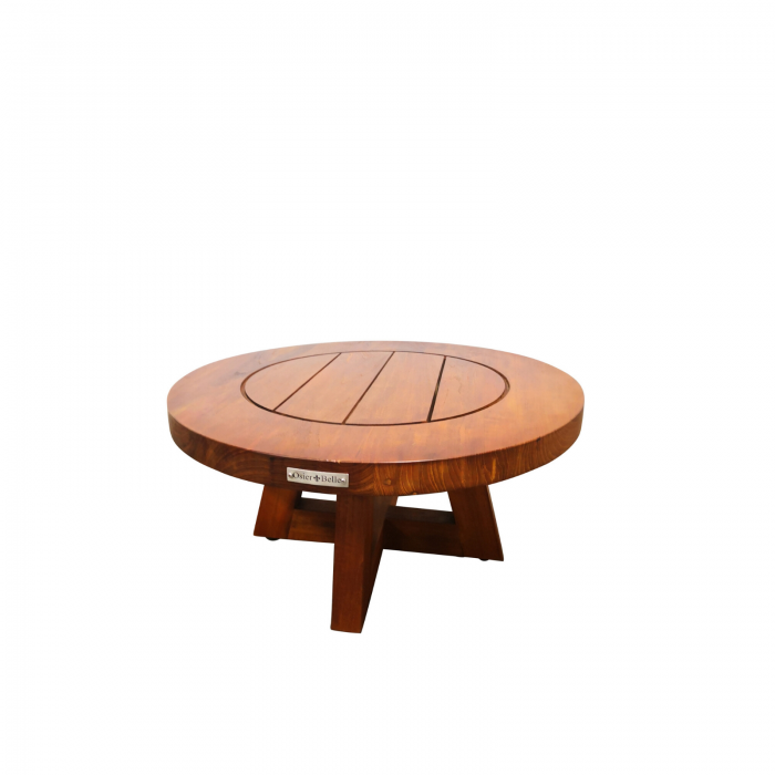 Two Design Lovers outdoor furniture teak coffee table Osier Belle 60cm