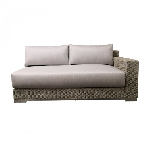 Two Design Lovers outdoor furniture Osier Belle Frappant sofa
