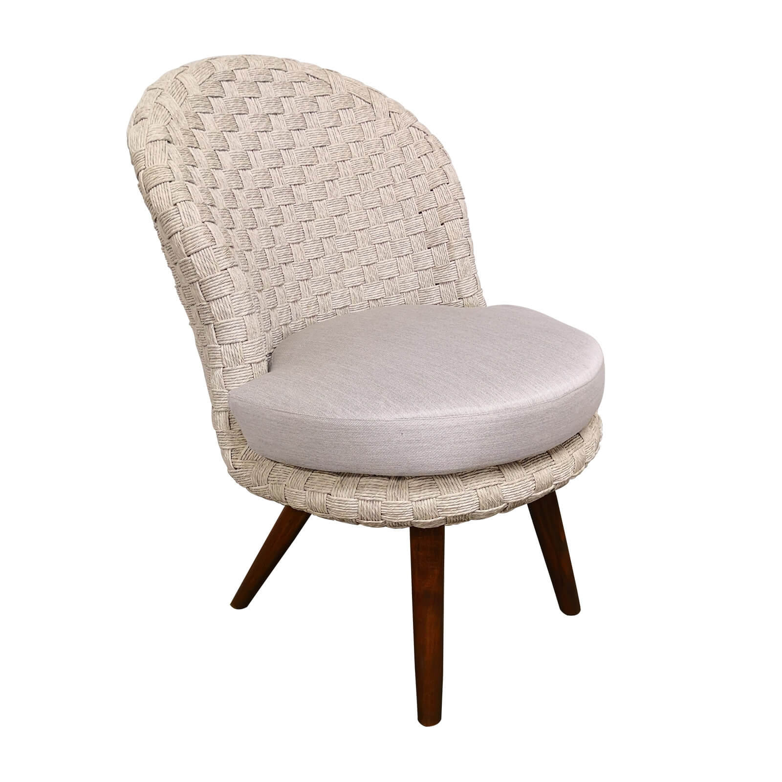 Two Design Lovers outdoor furniture Osier Belle Bulle dining chair Gribig weave