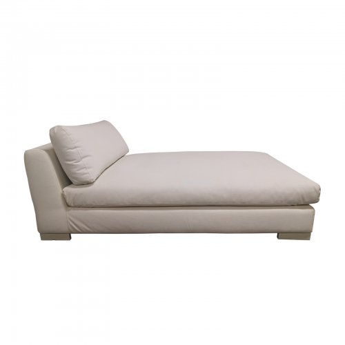 Two Design Lovers Outdoor furniture Leisuretex white chaise