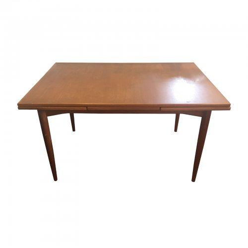 Original Parker Teak Extendable Dining Table Australian Mid Century Modern