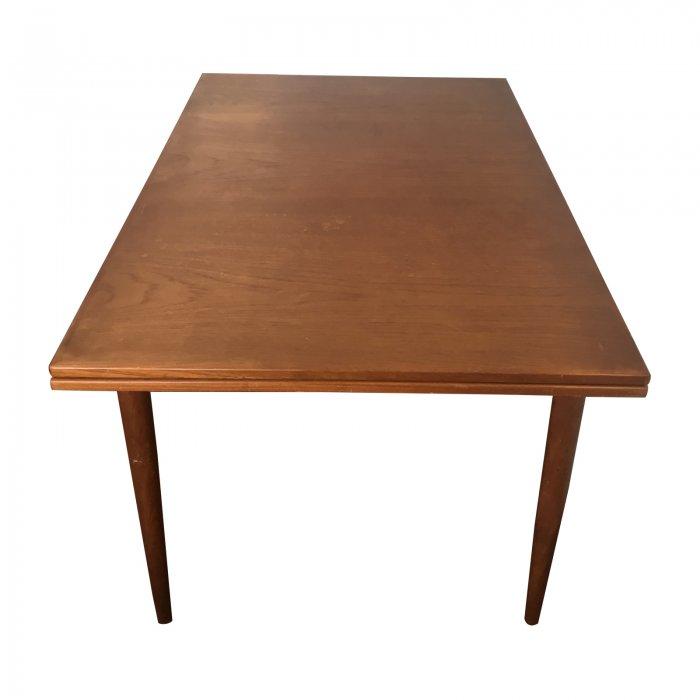 Original Parker Teak Extendable Dining Table Australian Mid Century Modern Top