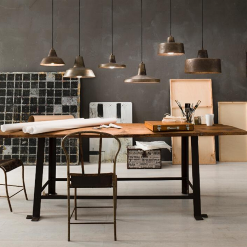 Two Design Lovers Officina pendant group in situ