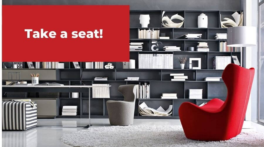 Take a Seat! Two Design Lovers Accent Chairs