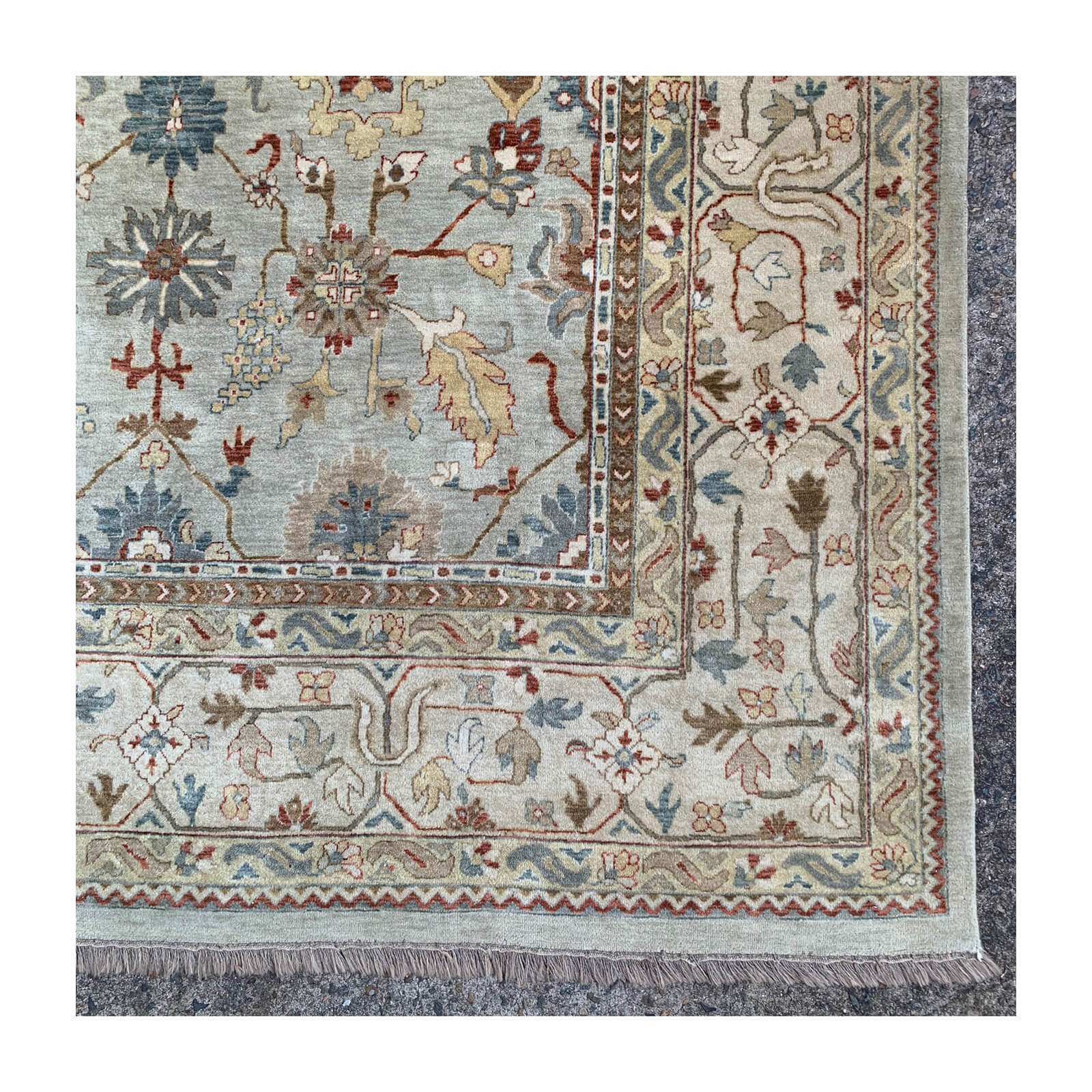 Hali Hand Knotted Custom Made Rug Two