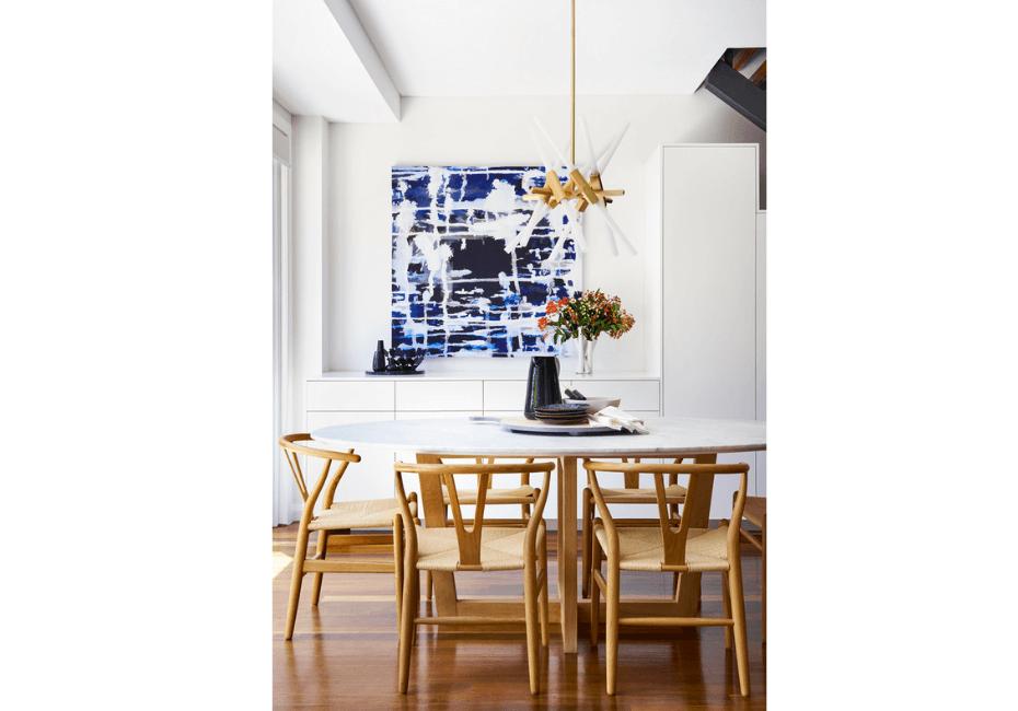 rocco revolution blog interior designer Kristin Stojcevski dining room