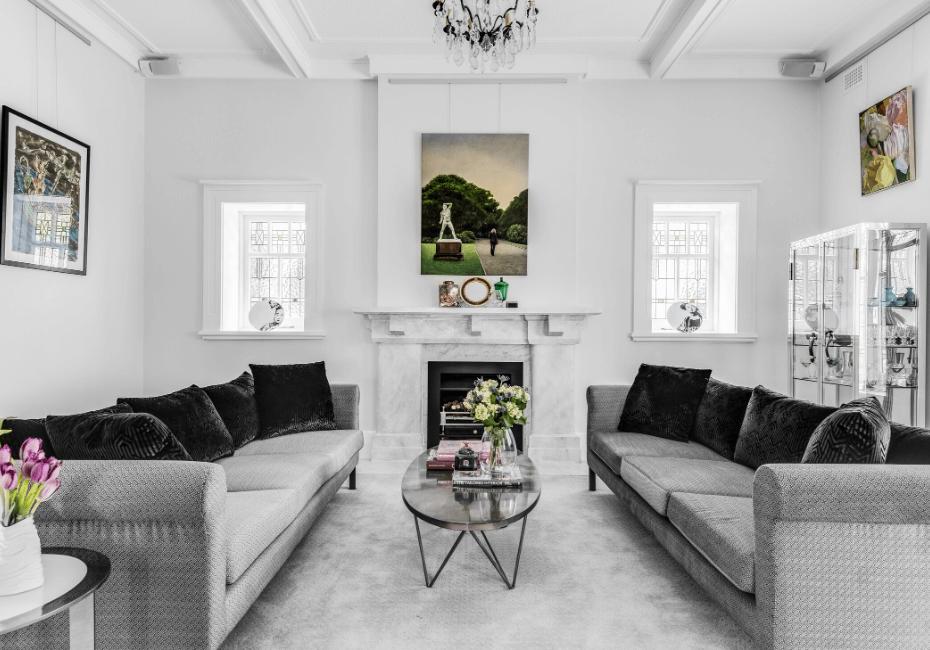 rocco revolution blog interior designer Kristin Stojcevski living room