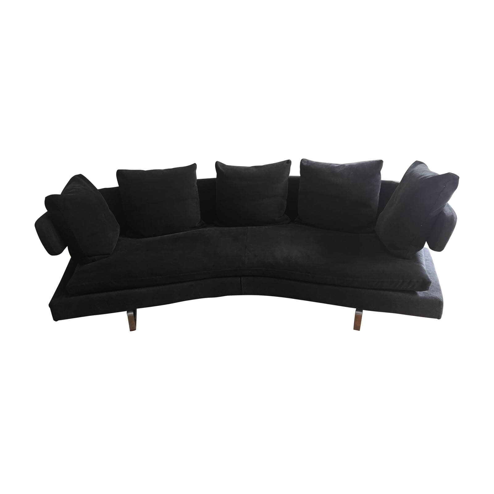 Two Design Lovers B&B Italia Arne sofa anthracite