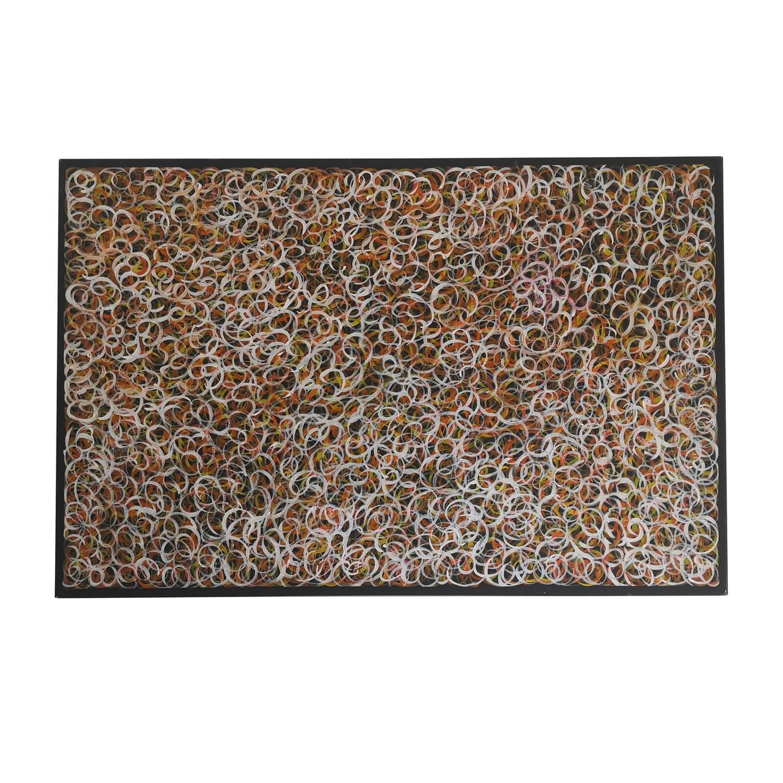 Gracie Morton Aboriginal painting Bush Plum