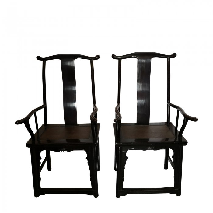 pair of antique chinese chairs