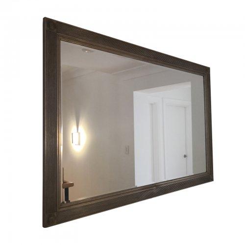 Bevel edge framed mirror