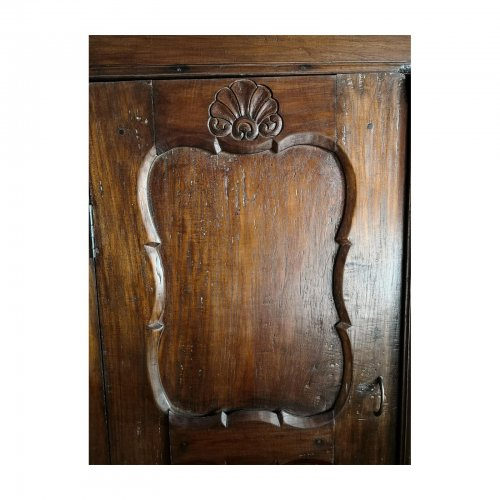 rustic german style cabinet panel detail