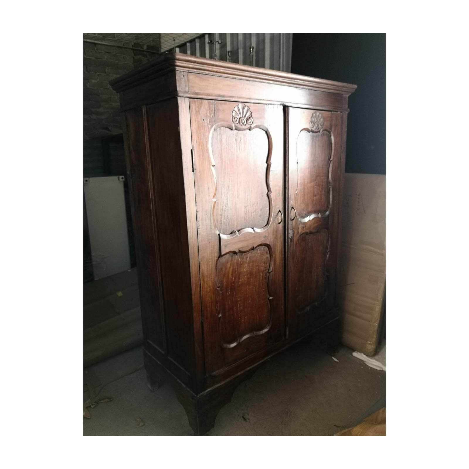 rustic german style cabinet