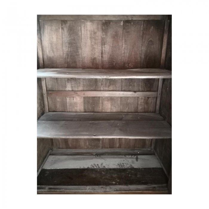 rustic german style cabinet interior