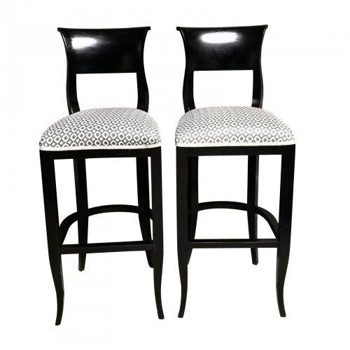 Two Design Lovers Xavier barstools pair