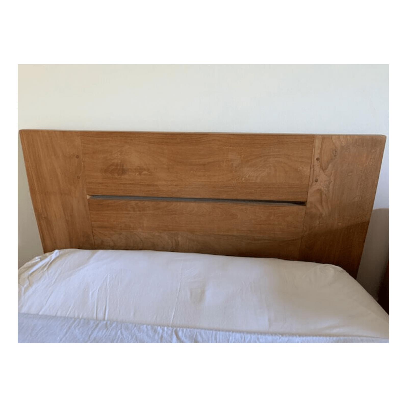Two Design Lovers Ethnicraft Teak Bed headboard