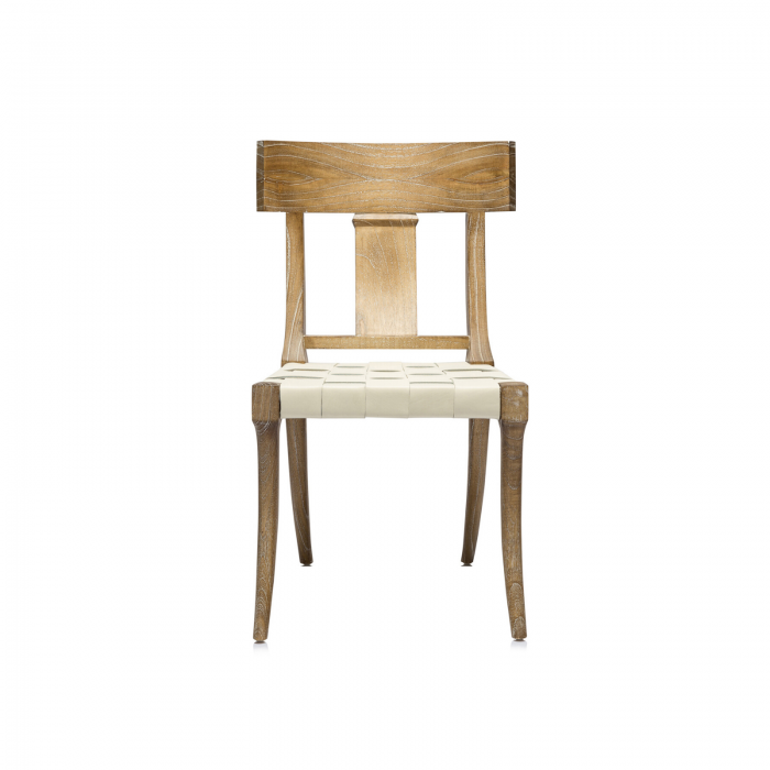 Oly Studio Sussex leather dining chair